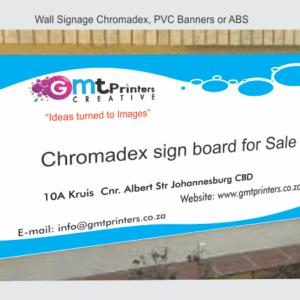 Chromadek Sign